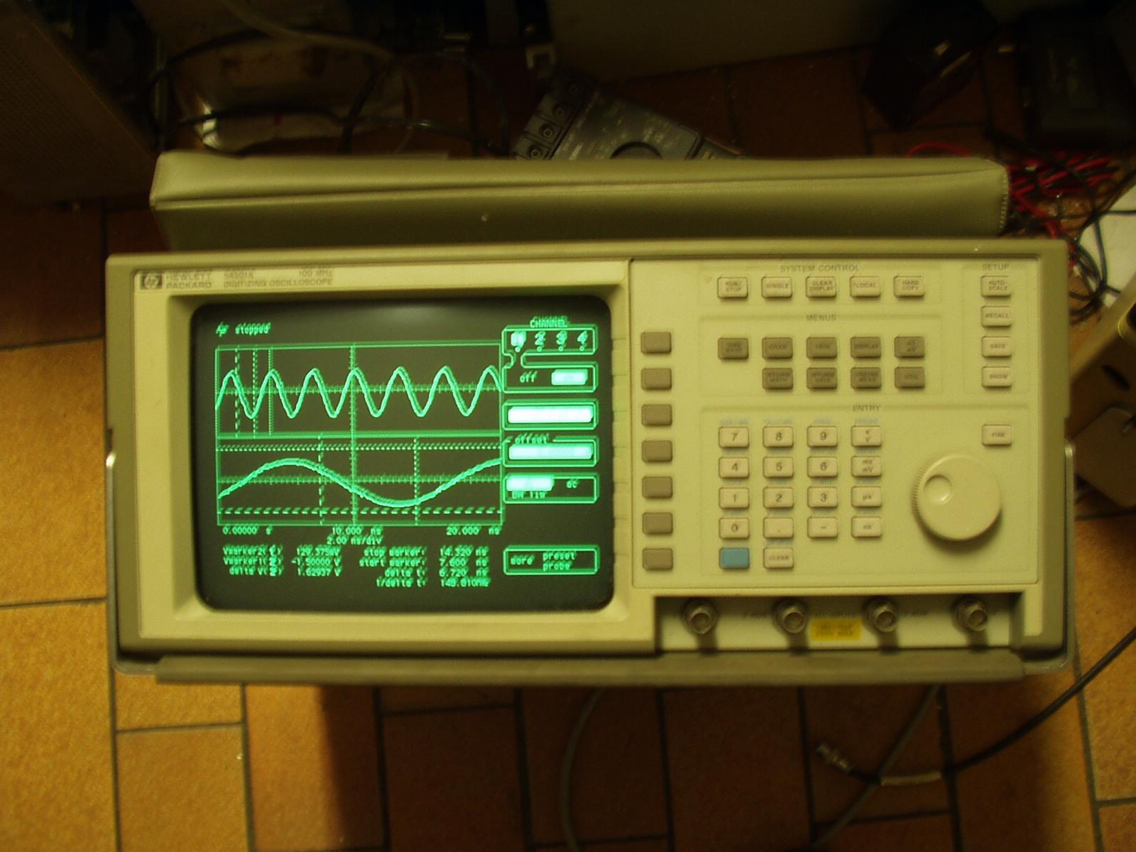 d u00e9tails annonce   oscilloscope numerique