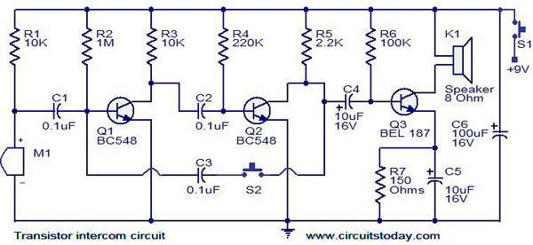 Construisez Un Interphone Simple Et Efficace A Base De