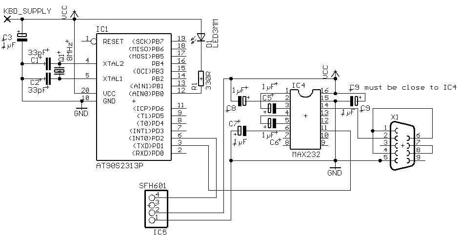 Arduino Rs232 Shield Schematic