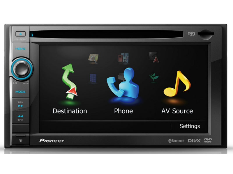 pioneer avic f930bt pioneer autoradio multim dia 2 din gps tooth ipod iphone ecran 6 1 39 39. Black Bedroom Furniture Sets. Home Design Ideas