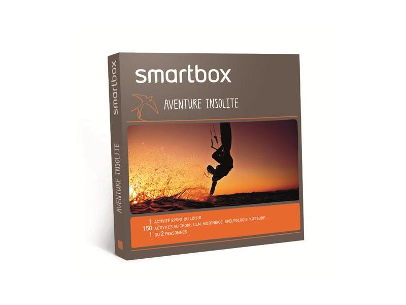 smartbox coffret smartbox u00ae aventure insolite
