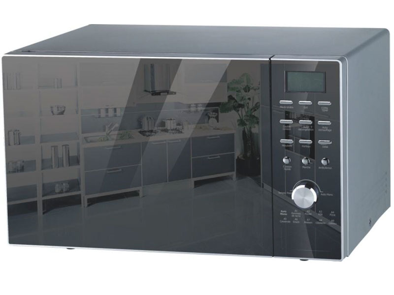Linke micro ondes multifonctions linke lk ac032ceh miroir for Micro onde encastrable miroir