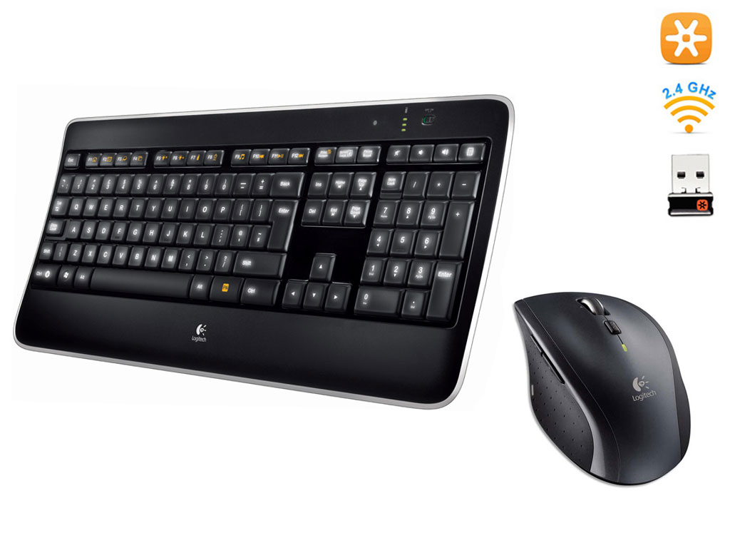 Pack Clavier Souris Unifying Logitech