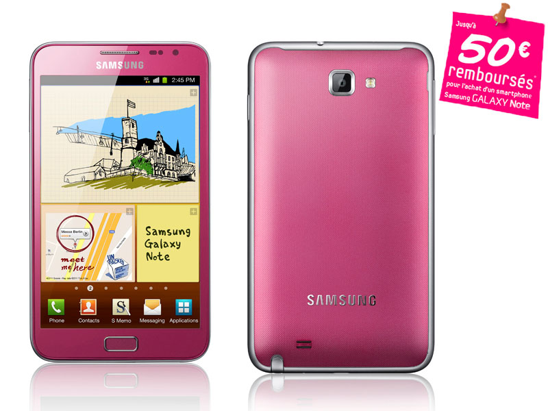 Samsung Galaxy NOTE Rose