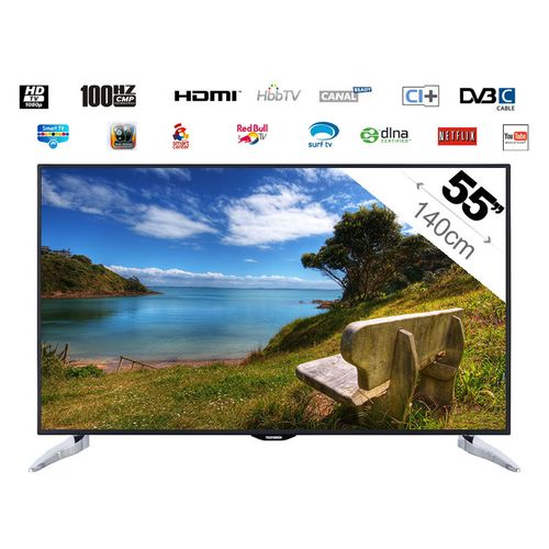 telefunken smart tv led 140cm