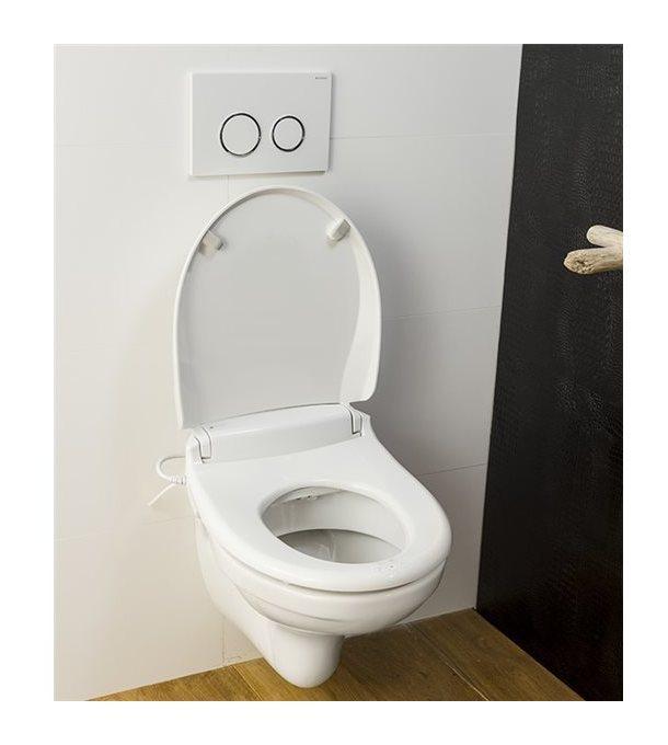 Catgorie abattant wc du guide et comparateur d 39 achat - Wc avec douchette anale ...