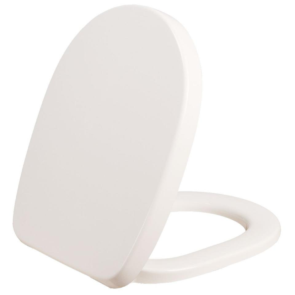 abattant wc blanc double  connect  ideal standard