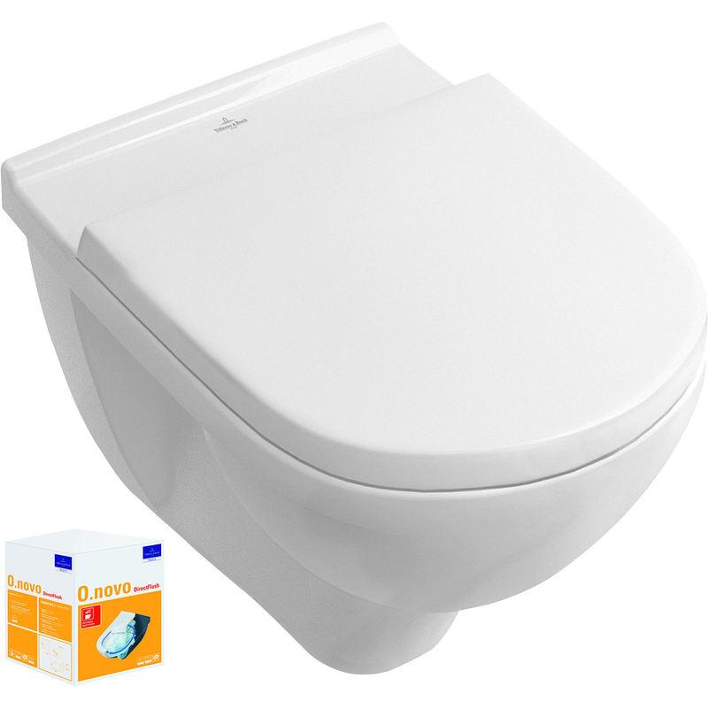 villeroy ombi pack o novo direct flush couleur blanc. Black Bedroom Furniture Sets. Home Design Ideas