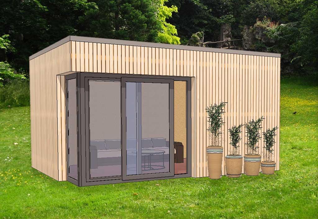 Bungalow bois design - Bungalow de jardin design ...