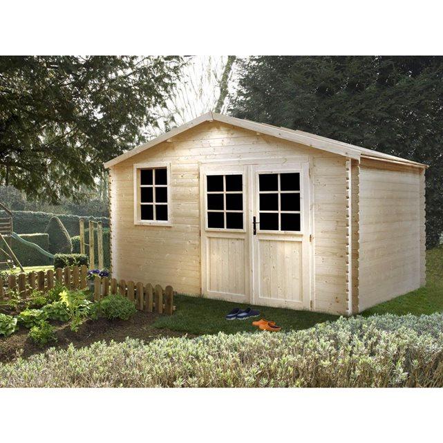 Madeira c abri jardin bois emboit medyne m 4 for Jardin vente