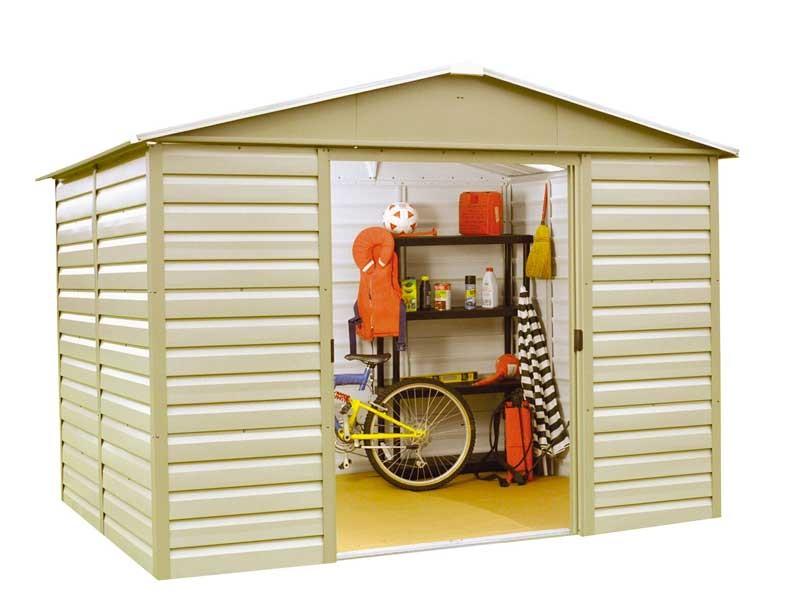 comparateur maison et jardin equipement mobilier de abri produit yardmaster metal  m