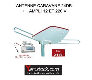 Antennes caravanes guide d 39 achat - Antenne tv caravane ...