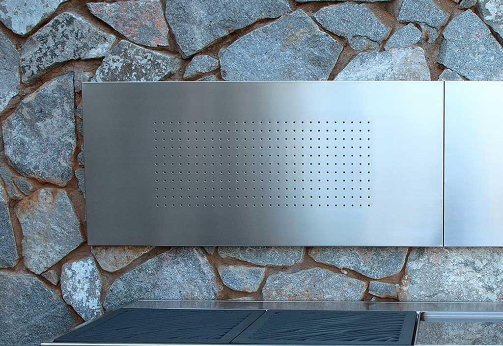 Cat gorie accessoire de barbecue du guide et comparateur d for Plaque murale inox