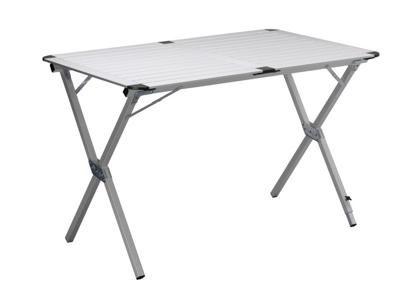 Campart table pliante de jardin camping en aluminium 110x7 - Table pliante aluminium ...
