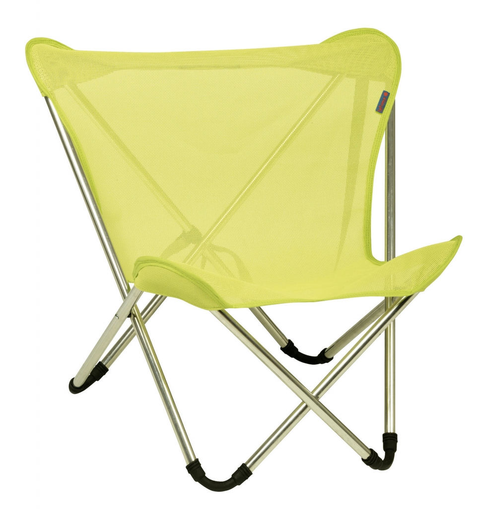 Lafuma c chaise pliante micro pop up avec batyline fun 20 for Chaise de camping