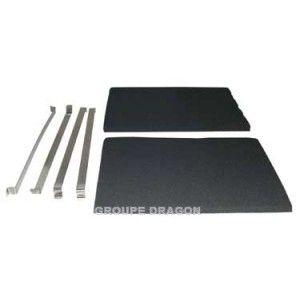 Thermor filtre hotte charbon livre par 2 pour hotte for Hotte de cuisine filtre charbon