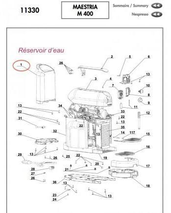 Piece Detachee Machine A Cafe Lavazza Mio
