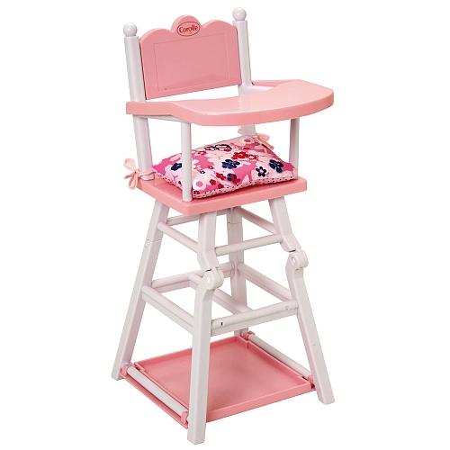 Corolle c chaise haute accessoire poup e - Comparateur chaise haute ...