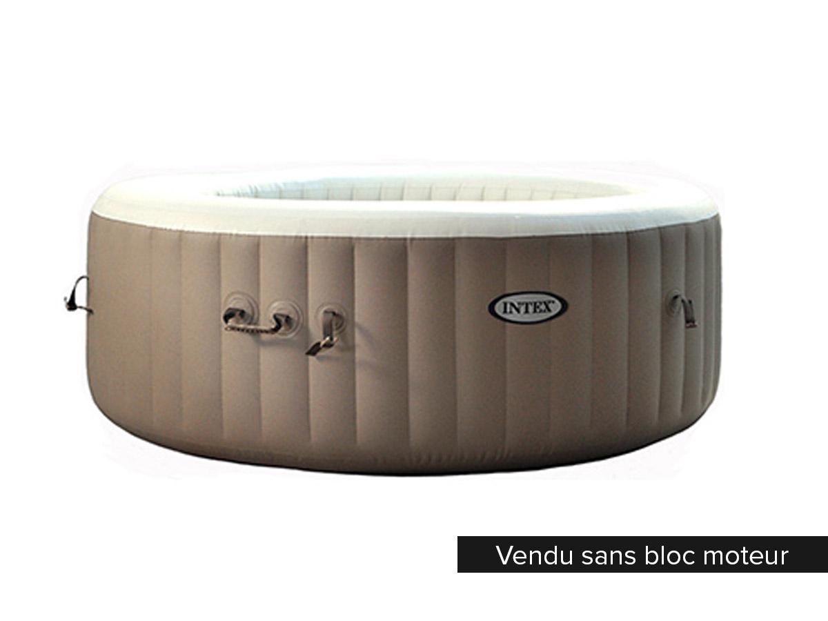 intex structure gonflable seule pour spa bulles 4 places 28404 et 28402. Black Bedroom Furniture Sets. Home Design Ideas