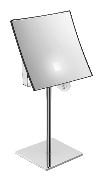 Pellet miroir grossissant lumineux sur pied 005590 for Objectif miroir 50mm