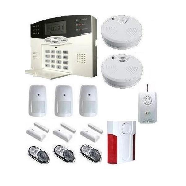Alarmes de maison guide d 39 achat for Alarme maison sans fil tike securite