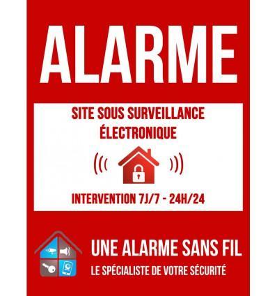 Catgorie alarme de maison du guide et comparateur d 39 achat for Autocollant alarme maison