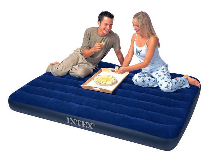 intex matelas dappoint classic 2 places. Black Bedroom Furniture Sets. Home Design Ideas