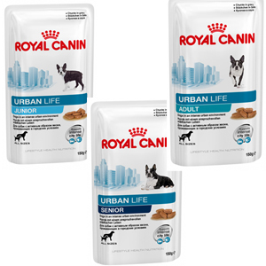 royal canin urban life adult pour chien 6 x 150 g. Black Bedroom Furniture Sets. Home Design Ideas