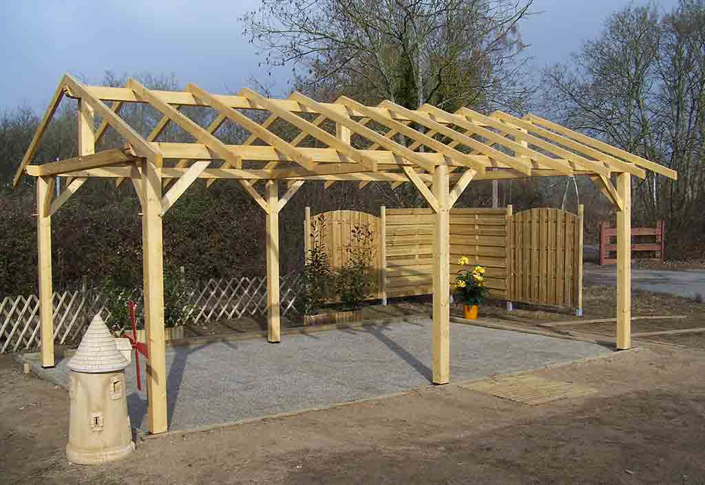 Cat gorie am nagement de garage page 3 du guide et comparateur d 39 achat - Montage carport bois ...