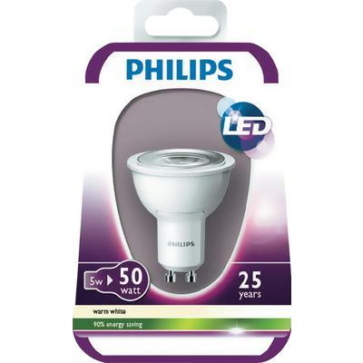 philips campoule led incandescente mr16 gu10 5w. Black Bedroom Furniture Sets. Home Design Ideas