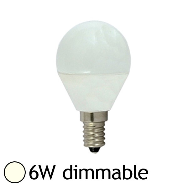 Vision ampoule led 6w dimmable e14 blanc jour 4000k el - Ampoule led dimmable ...