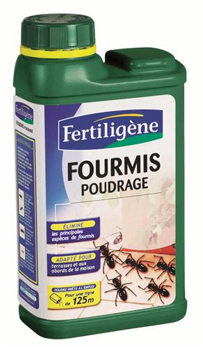 Fertiligene insecticide fourmis poudrage 250 g for Anti fourmis maison