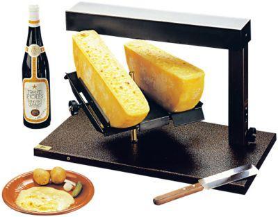 bron cappareil raclette 1 2 meule double fromage. Black Bedroom Furniture Sets. Home Design Ideas