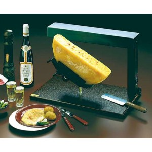 Bron appareil raclette ambiance demi meule lectriq - Appareil a raclette demi meule ...