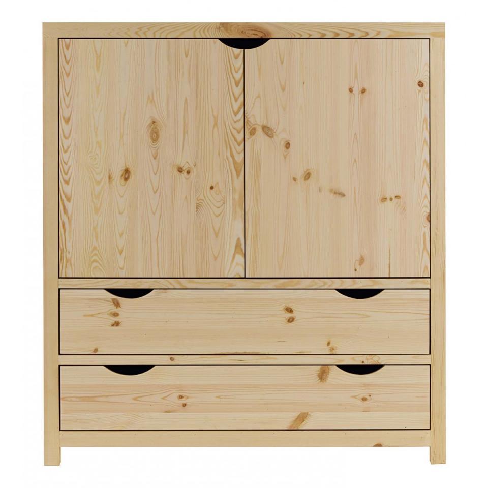 couleurs bureau pin massif brut lune des alpes. Black Bedroom Furniture Sets. Home Design Ideas