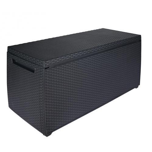 chalet ccoffre en rsine tresse jardin catgorie armoire et coffre de jardin. Black Bedroom Furniture Sets. Home Design Ideas