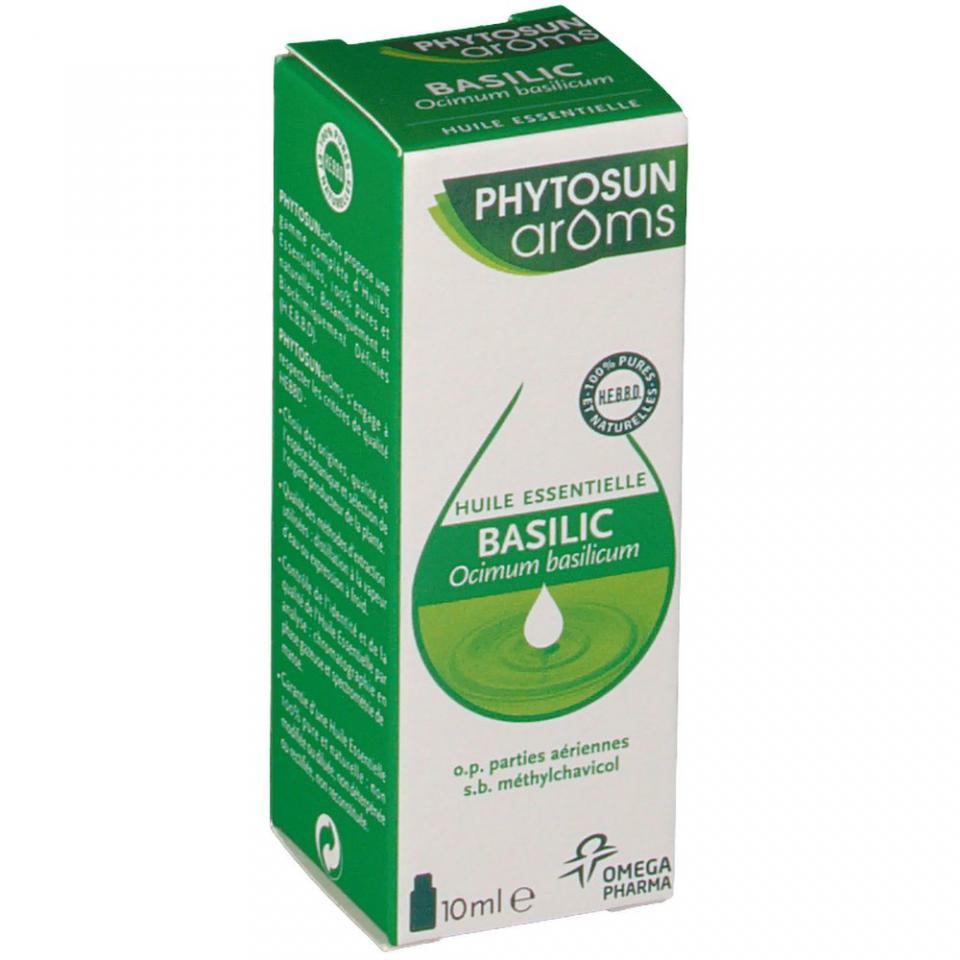 phytosun aroms basilic 10ml. Black Bedroom Furniture Sets. Home Design Ideas