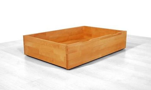 tiroir de rangement pour lit sur roulettes. Black Bedroom Furniture Sets. Home Design Ideas