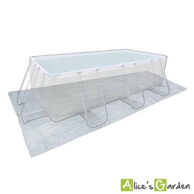 alice c s garden tapis de sol gris 472 x 265 cm pour p. Black Bedroom Furniture Sets. Home Design Ideas