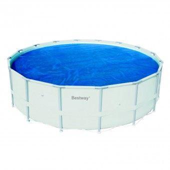 Bestway bache t pour piscine ovale 610x366 for Liner pour piscine tubulaire bestway