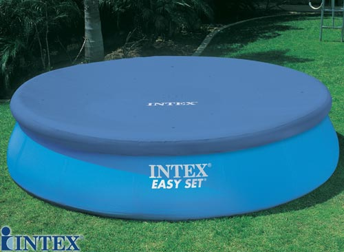 Intex cb che bulles pour piscines 3 05m cat gorie for Bache piscine intex 3 05