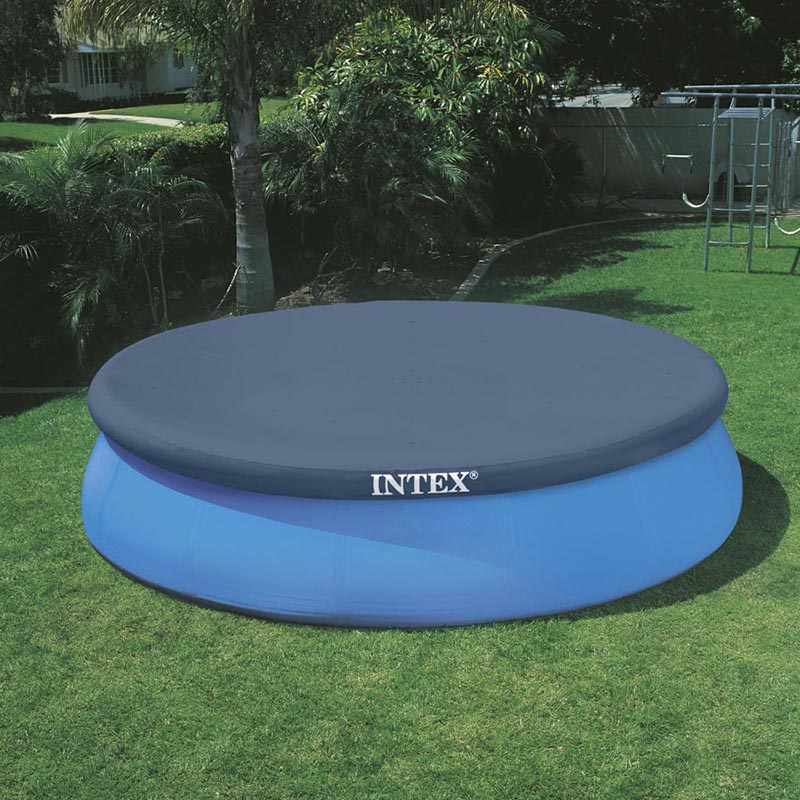 Intex c bche pour piscine easy set 396 cm for Liner piscine intex