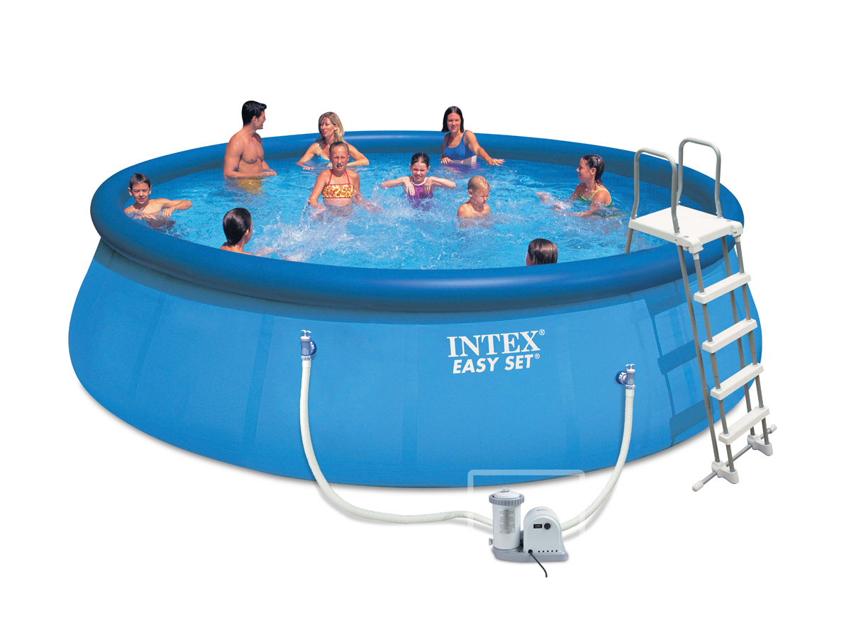 Intex liner autostable 549 x 122 m liner seul for Liner piscine intex