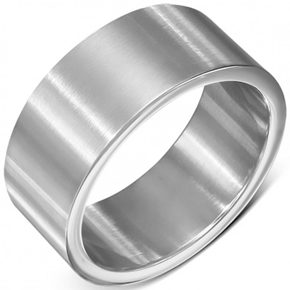en acier inoxydable argent de finition mate, idale pour le mariage ou ...