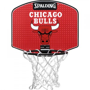 spalding mini panier de basket nba chicago bulls. Black Bedroom Furniture Sets. Home Design Ideas