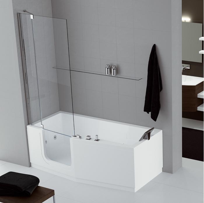 Porte baignoire castorama les derni res for Baignoire douche porte