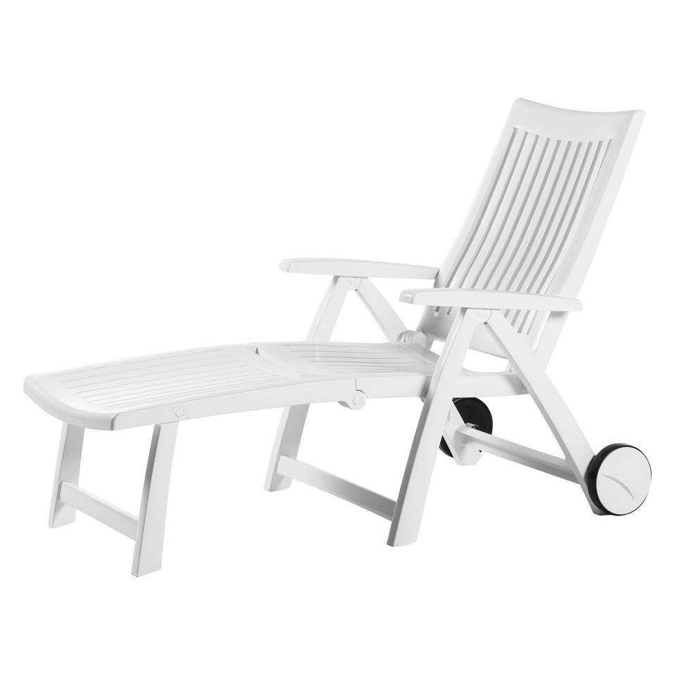 Catgorie bain de soleil page 3 du guide et comparateur d 39 achat for Chaise longue jardin plastique blanc