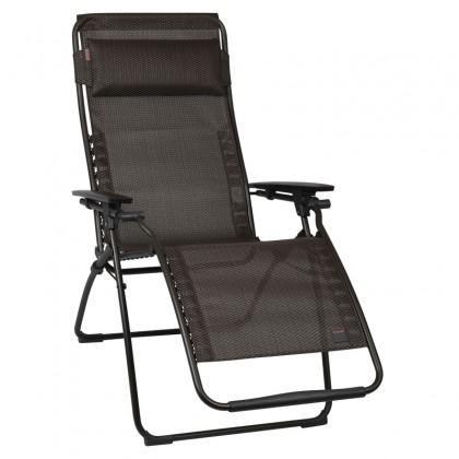lafuma cfauteuil futura couleur moka marron. Black Bedroom Furniture Sets. Home Design Ideas