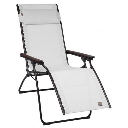 lafuma cfauteuil relax evolution couleur kaolin marron. Black Bedroom Furniture Sets. Home Design Ideas