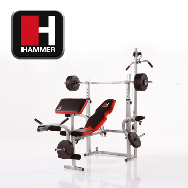 hammer banc de musculation bermuda xt pro. Black Bedroom Furniture Sets. Home Design Ideas
